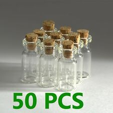 40ml bottles,50pcs clear glass bottles with corks 80x30mm