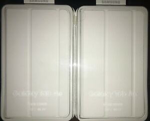 LOT-OF-2-Genuine-OEM-Samsung-Galaxy-Tab-A6-7-034-Book-Cover-Case-White-NEW