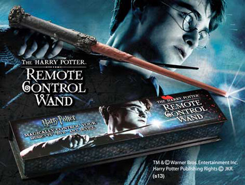 Harry potter tã © lã © command magic wand drop the on the tv and more