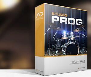 Details about XLN Audio Studio Prog ADpak Drum Kit Sample EXPANSION for  Addictive Drums 2