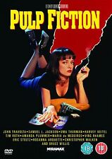Pulp Fiction (2011) Quentin Tarantino, John Travolta, Bruce NEW SEALED UK R2 DVD