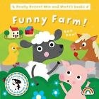 Mix and Match - Funny Farm by Philip Dauncey (Board book, 2014)