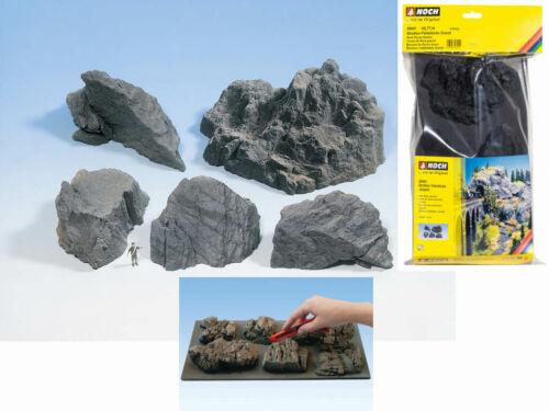 NOCH 58451 5 Felsstücke Granit Fels Felsen Berg H0 TT N Neu