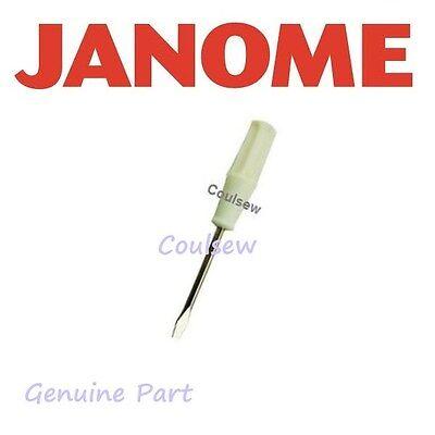 JANOME GENUINE SMALL SCREWDRIVER BOBBIN CASE SCREW OVERLOCK NEEDLE CLAMP SCREW