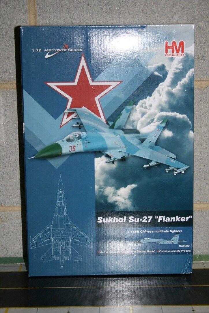 Hobby Master 1 72 PLANAF J11 SU-27 Flanker (HA6002) Die-Cast Model Plane