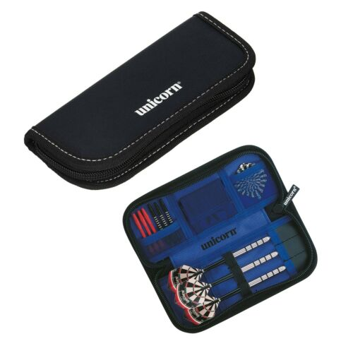 Dart Case Unicorn Midi Wallet Black Compact and Secure