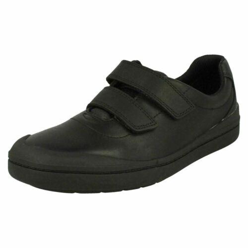Pequeño De Cierre Infantil Piel Hook Clarks Zapatos Para Niño Adhesivo Colegio 4wxOFpqd4