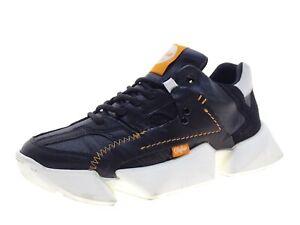 Buffalo Damen Schuhe Sneaker Laufschuhe Freizeitschuhe Gr 38 Schwarz Leder