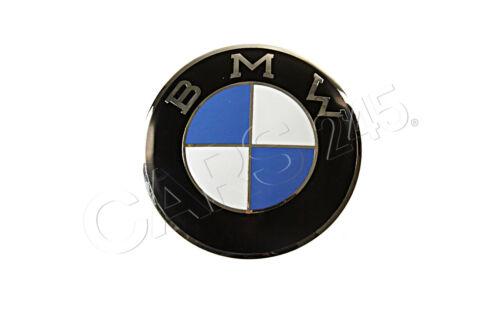 Genuine BMW V8 Roadster Coupe Front and Rear Emblem Badge 82mm OEM 51140035268