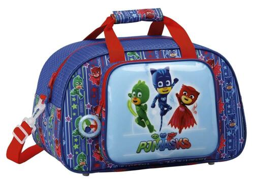 PJ Masks Sports Bag Featuring Catboy Owlette and Gekko