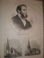 Mr George Jessel new Solicitor-General 1871 old print