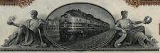 Western Pacific Railroad Company 2 Color Stock Certificate Set Union