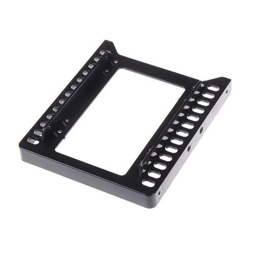 "Adapter 2.5/"" to 3.5/"" hard drive plastic bracket hdd holder mounting ssd black PL"