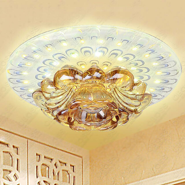 Modern Φ18cm Crystal 9W LED Ceiling Lights Aisle/Porch Lights Chandeliers 1747