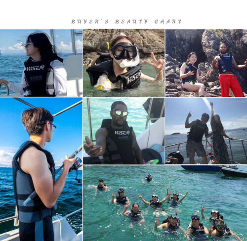 Erwachsene Prallschutzweste Rettungsweste Schwimmweste Wakeboard Schwimmhilfe