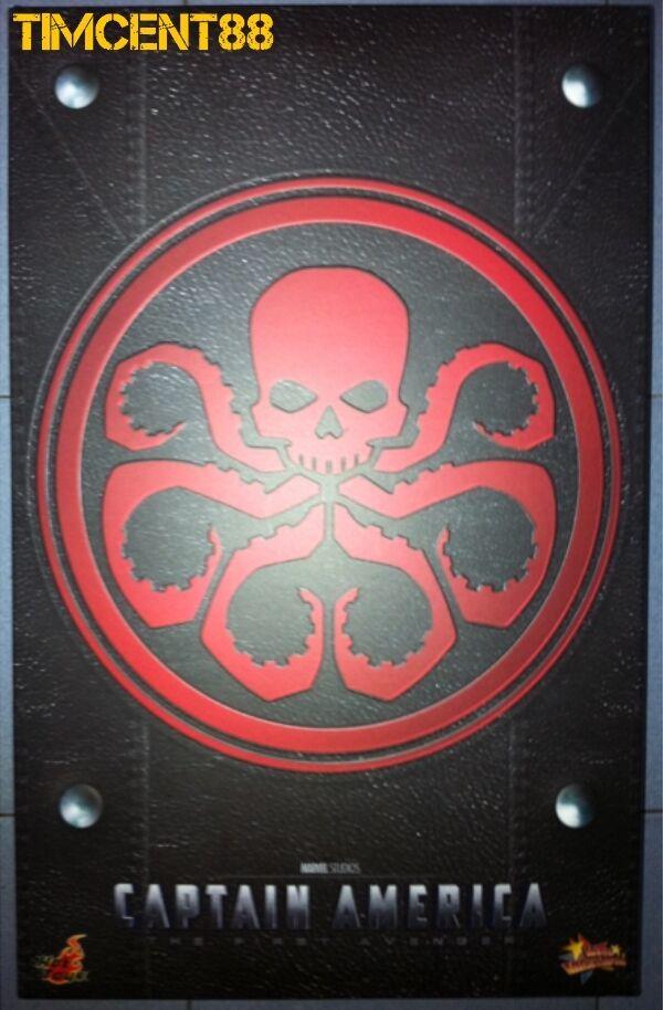 Hot Toys MMS167 First Avenger Captain Captain Captain America - 1 6 Red Skull Hugo Weaving d4e1a9