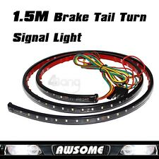 Red Line 1.5m LED Tailgate Bar Turn Signal Light Truck Pickup Reverse Brake Glow