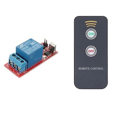 NEW 1 Channel Infrared Switch Relay Driving Module Board 12V Remote Controller