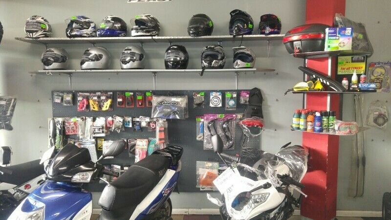 Motorcycle Accessories and Spares