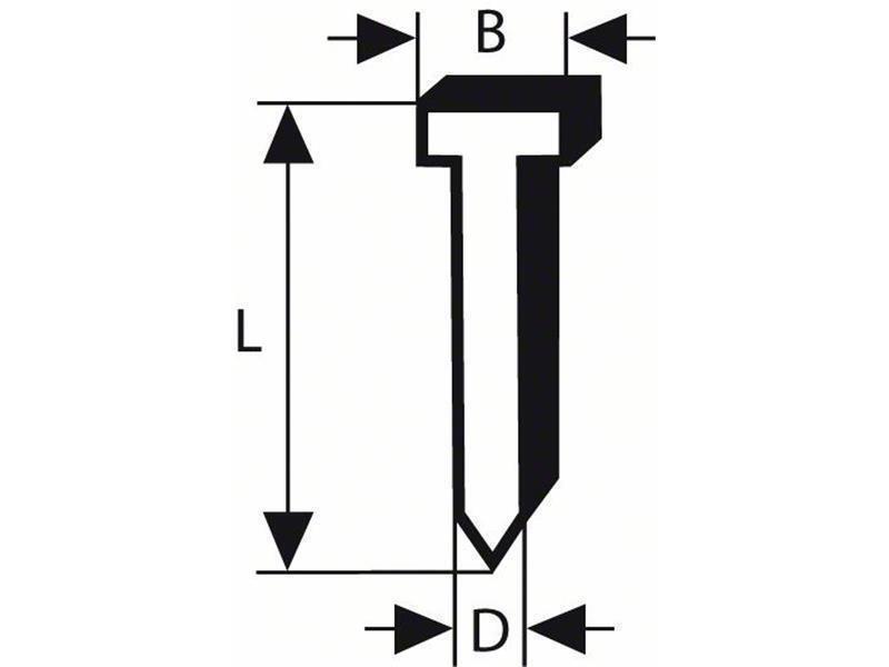 Bosch Senkkopf-Stift SK64 20NR | Großer Räumungsverkauf  | Starke Hitze- und Abnutzungsbeständigkeit  | Eleganter Stil  | Hohe Qualität Und Geringen Overhead