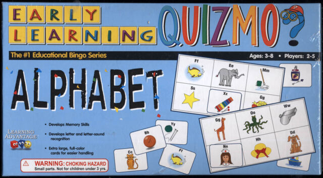 Learning Advantage Ctu8224 Quizmo Early Learning Alphabet For Sale Online Ebay