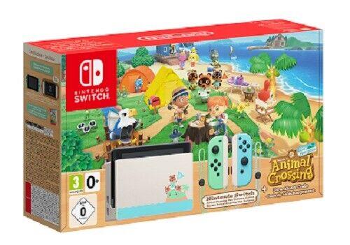 videogiochi e console: NUOVO NINTENDO SWITCH V2 1.1 CONSOLE Limited Ed. Animal Crossing New Horizons
