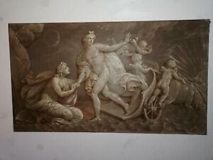 drei-Gemaelde-Grisaille-signiert-Herrmann-Muenchen-mythologische-Szenen