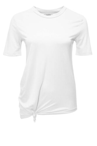 Pieces Damen T-Shirt Shirt Stretch Kurzarmshirt Casual Basic Uni Shirt NEU SALE