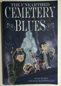 THE-UNEARTHED-CEMETERY-BLUES-2008-Image-Comics-TPB-1st-VG-FINE