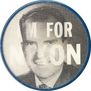 1960-Campaign-I-039-M-FOR-Richard-NIXON-Flasher-Button-1742