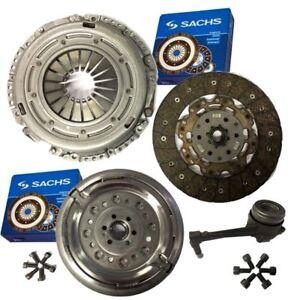 Sachs-Embrague-amp-Doble-Masa-Rigida-Volante-CSC-amp-Pernos-Para-VW-Caddy-Estate-2-0-TDI