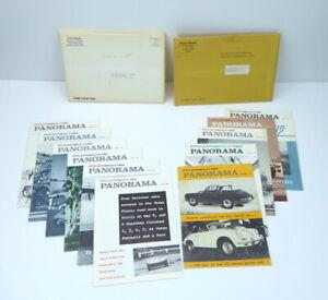 Porsche-Panorama-Magazine-January-November-1965-11-Issues-PCA-Rare-Vintage