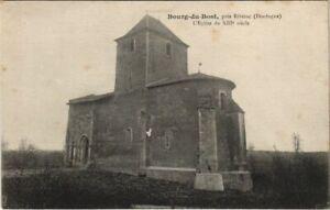 CPA Bourg-du-Bost - pres Riberac - L'Eglise du XIIIe Siecle (1081321)