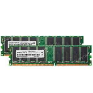 2GB DDR Memory RAM for ASUS Desktop Computers 2X1GB