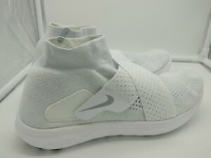 46da8783b1eed Details about Nike Womens Free RN Motion FK 2017 UK 5 White Wolf Grey Pure  Platinum 880846100