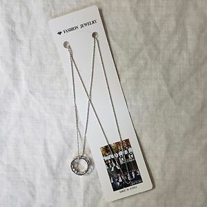 Monsta x necklace chain with ring pendant kpop star gift new ebay image is loading monsta x necklace chain with ring pendant kpop aloadofball Gallery