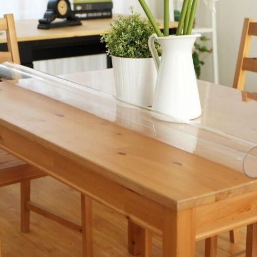 Table Film Protection 2 mm transparent film protecteur dicktischdecke au mètre 80-100
