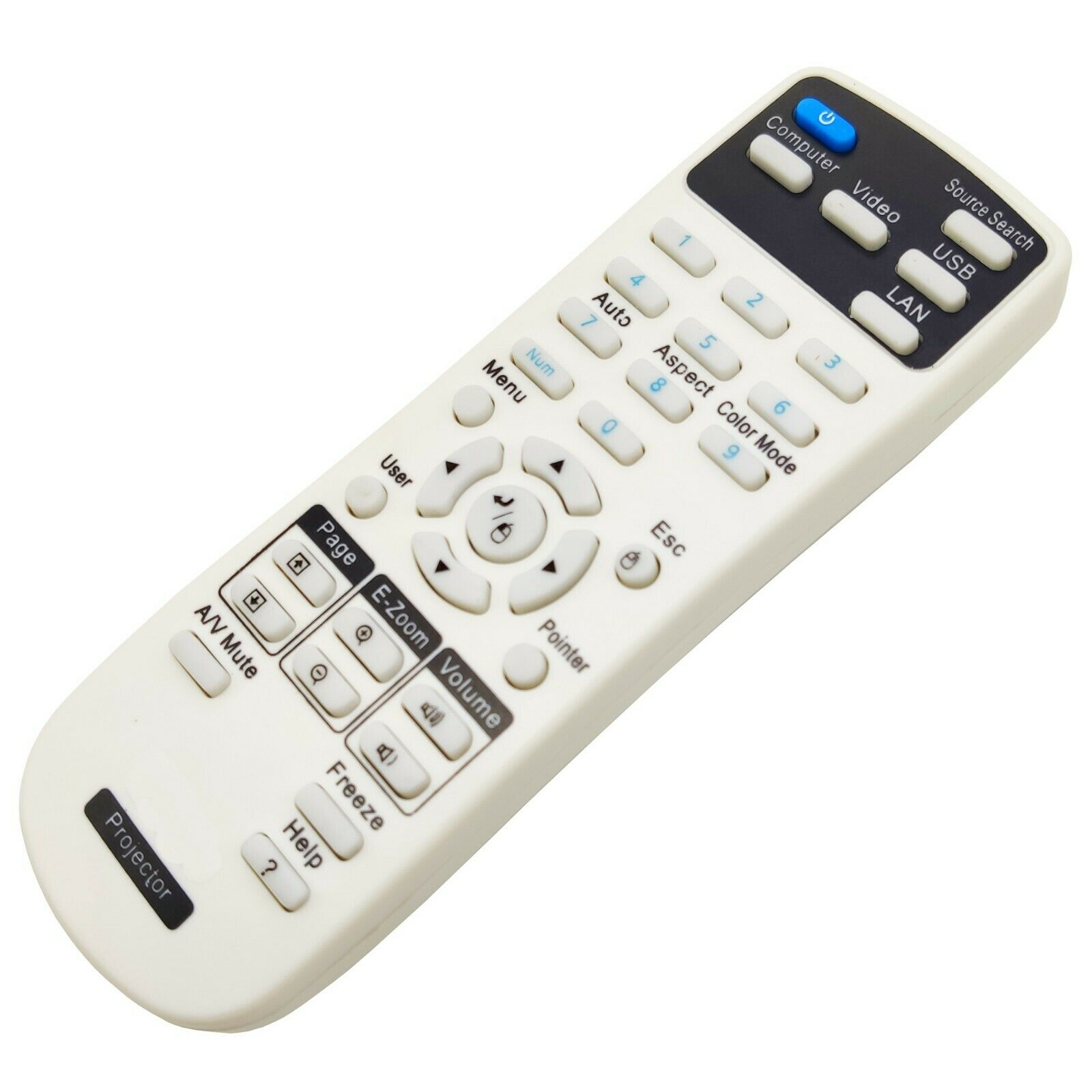 NEW Original Genuine Epson Projector Remote Control for Home Cinema 1040 EB-1965