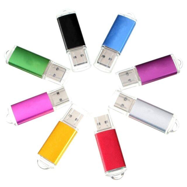 1X(16GB USB 2.0 Bright Memory Stick Flash Pen Drive Thumb U Disk Storage B2F8)
