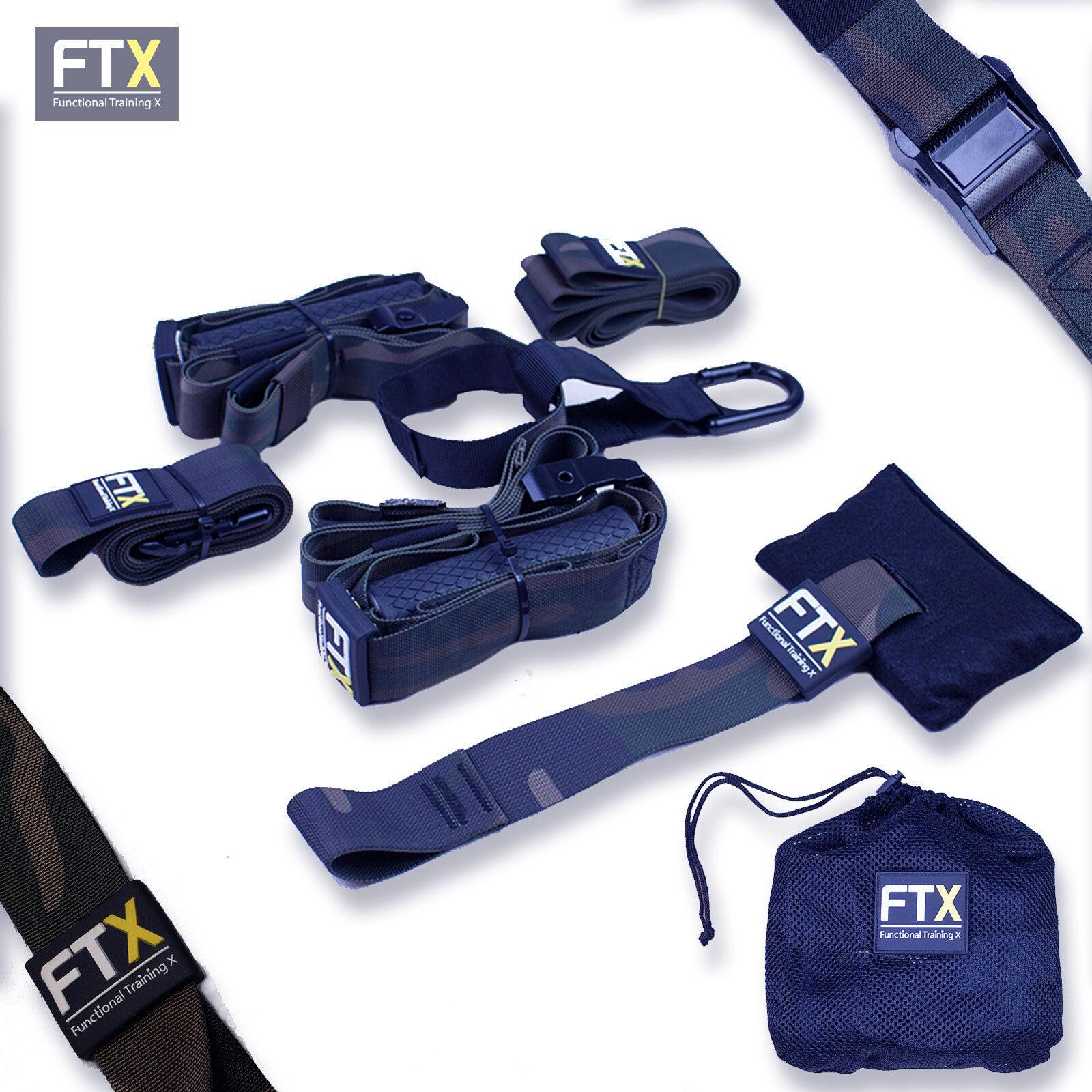 Profi Suspension Trainer/ Schlingentrainer / SlingTraining Pro camouflage FTX-29
