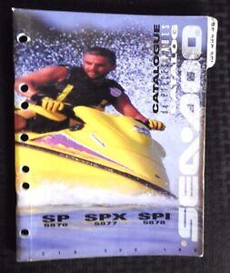 Genuine 1996 Sea Doo Sp Spx Spi Jet Ski Watercraft border=