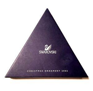 2005 Swarovski Crystal Christmas Star Ornament BOX ONLY | eBay