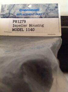 Honest Marineland Replacement Part Pr1279 Impeller Housing Model 1140 Selling Well All Over The World Pet Supplies Fish & Aquariums