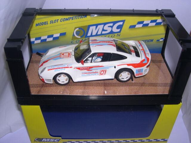 Elektrisches Spielzeug Msc 6044 Slot Car Porsche 959 #01 Master Slot 2014 Lted.ed Mb Kinderrennbahnen