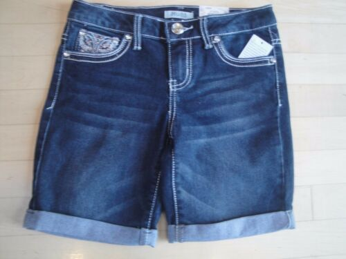 Mudd Girls Bermuda Shorts With  Butterfly Embellished Pockets Size:12 Youth $36