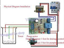 Marina Tropical Aquarium ro de nivel de agua controlador PCB 9v-12v Ac/dc Uk libre Pp