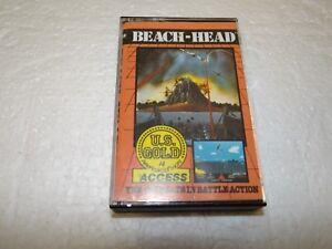 Game-Software-034-Beach-Head-034-Cassette-System-Schneider-CPC-464-664-PC135