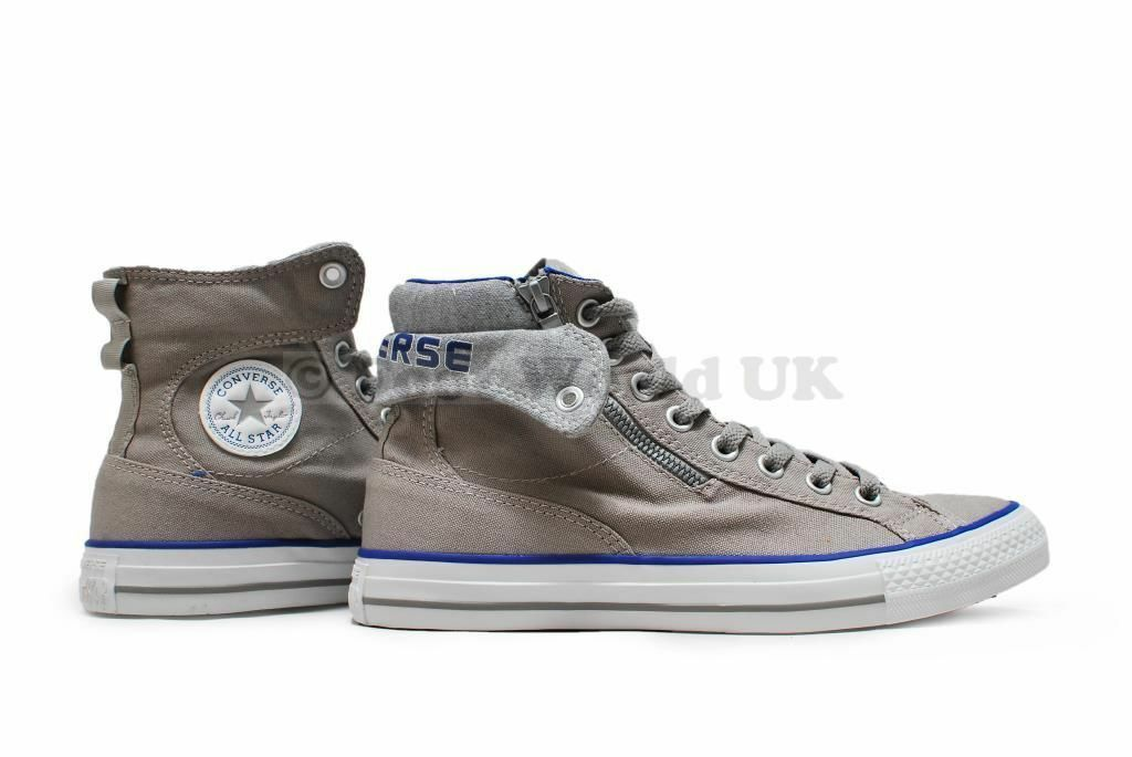 Unisex Uptown Converse - Chuck Taylor Uptown Unisex Mid - 141803F - Drizzle Royal Trainers 546cea