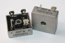 Lot de 2 Ponts de diodes KBPC3510  35 Amps sous 1000V