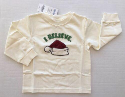 Nuevo con etiquetas Gymboree snowboarder 18-24 meses creo que sombrero de Santa Camiseta